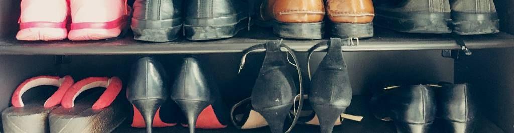 マンションのシューズクローゼット(下駄箱)の収納